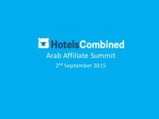 Hotelscombined Affiliate Program