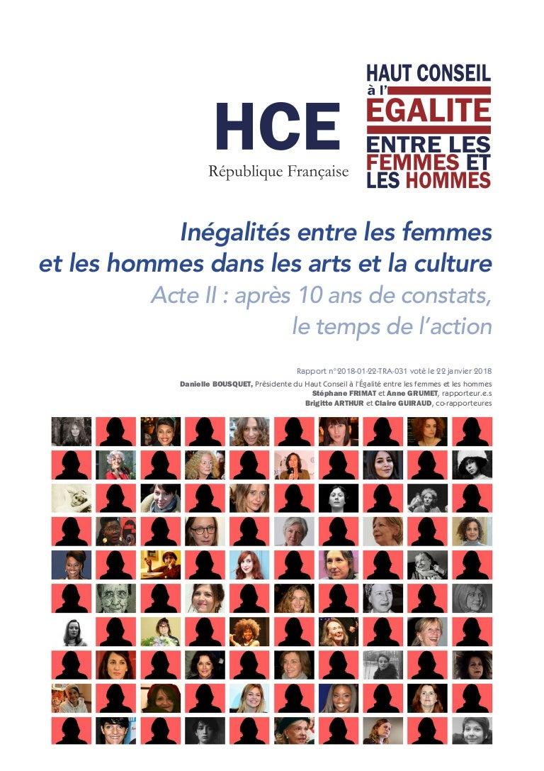 a3f71f2b5e6 Inégalités entre les femmes et les hommes dans les arts et la culture
