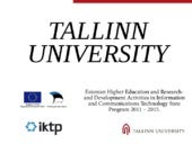 HCI Studies (Tallinn University Institute of Informatics)