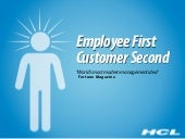 Hcl employee-first-customer-second