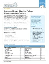 Enterprise Nursing Education Package: Exceptional eLearning for Your Nurses