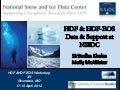 HDF & HDF-EOS Data & Support at NSIDC