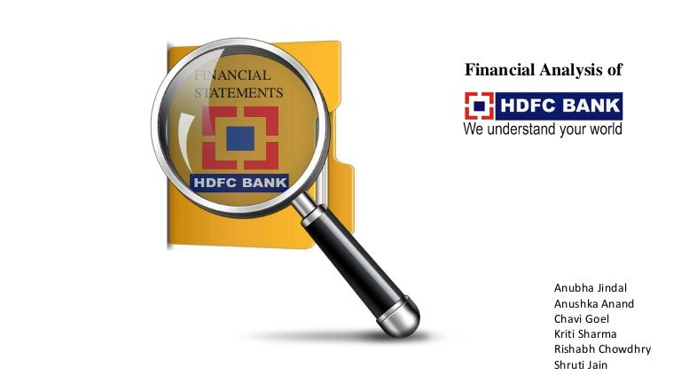 Hdfc Financial Analysis