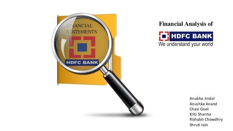 Hdfc Financial Analysis