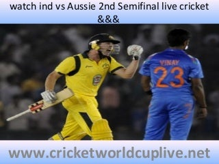 Hd stream ind vs aus %%%%on 26 march 2015