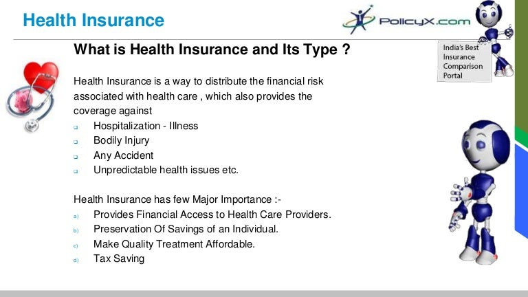 Health Insurance India - Key Terminology of Health Plans ...