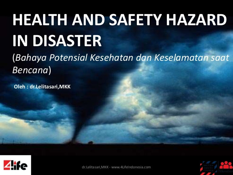 Health And Safety Hazard In Disaster