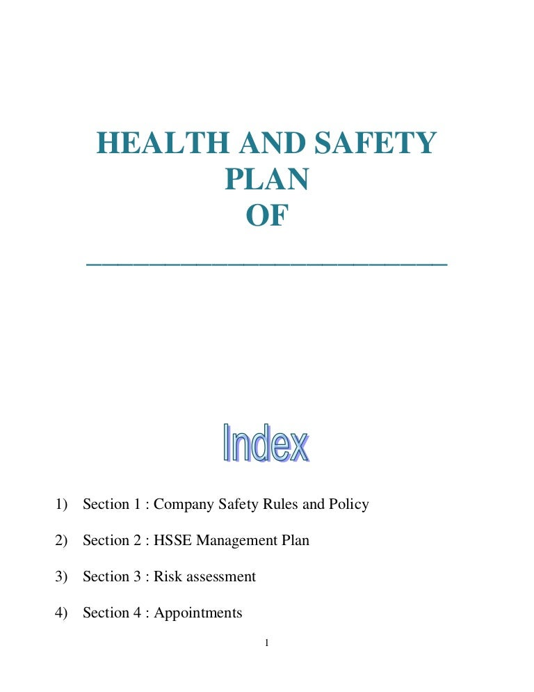 Sample Safety Plan Download Sample Fire Safety Plan Nutech Fire – Sample Safety Manual Template