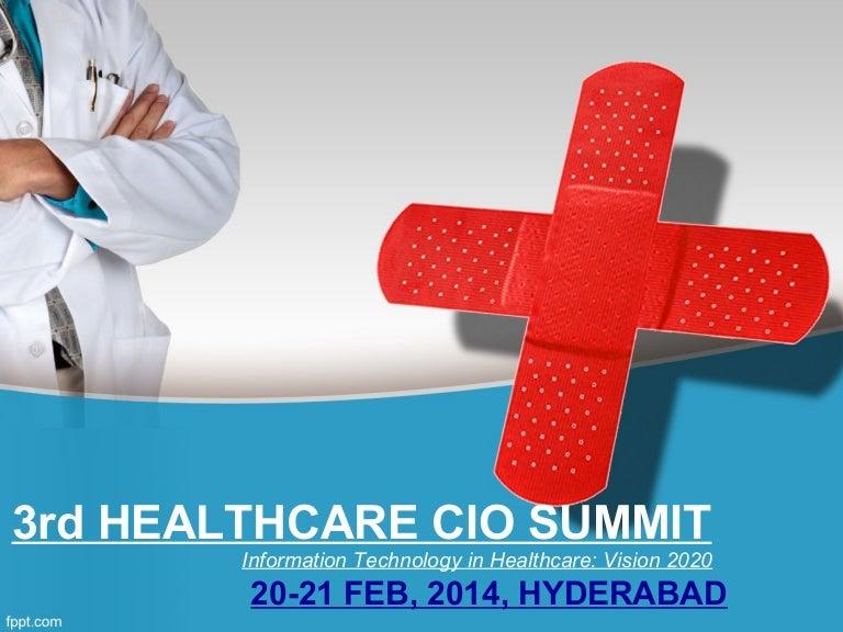 Healthcare cio summit 2014 ppt toneelgroepblik Image collections