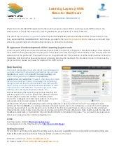 Healthcare informatics newsletter@uwe sept 2014