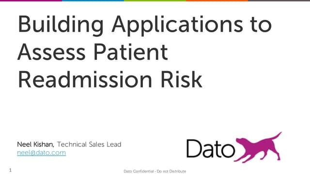Webinar - Patient Readmission Risk
