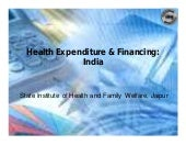 Health Expenditure & Financing