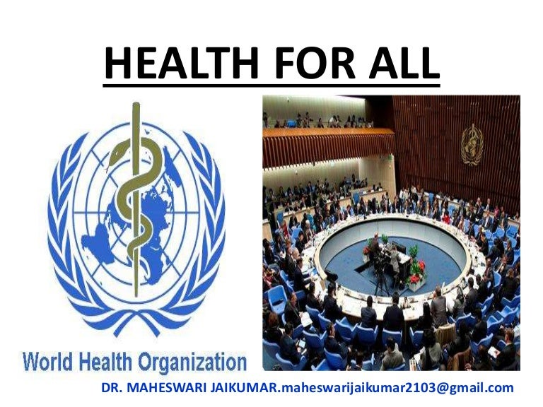 Health For All