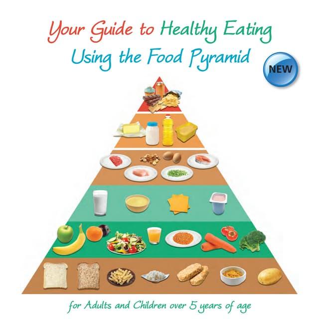 simple food pyramid go grow glow
