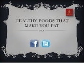 Healthy foods that helps to gain weight