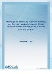 Hearing aids and market penetration