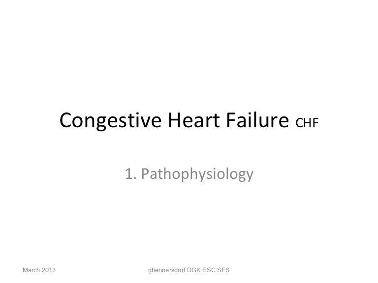 Heart failure 2013 Pathophysiology