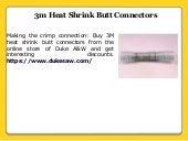 Highest Quality Heat Shrink Butt Connectors