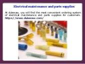 Electrical Maintenance Supplies