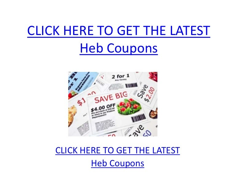 heb coupons printable heb coupons