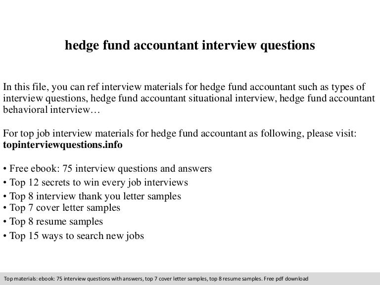 fund accounting resume sle resume fund general sample - Hedge Fund Resume  Sample