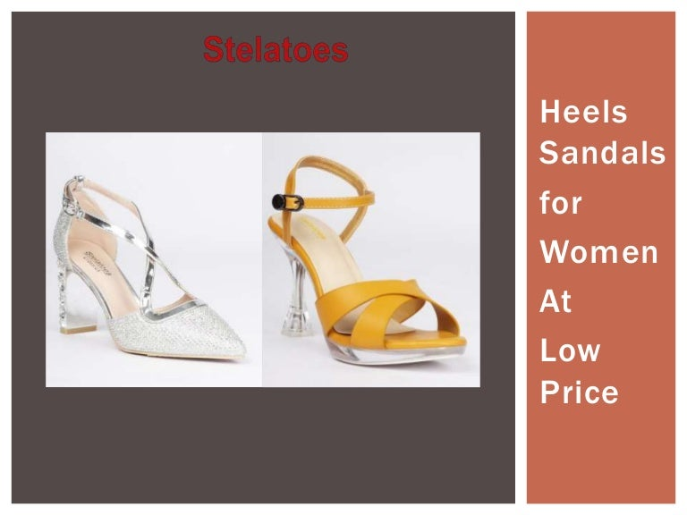 Heels Sandals for Women at Low Price
