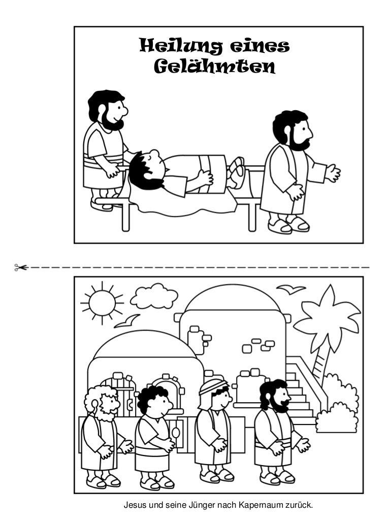 Nett Jesus Heilt Paralytische Malvorlagen Bilder - Druckbare ...