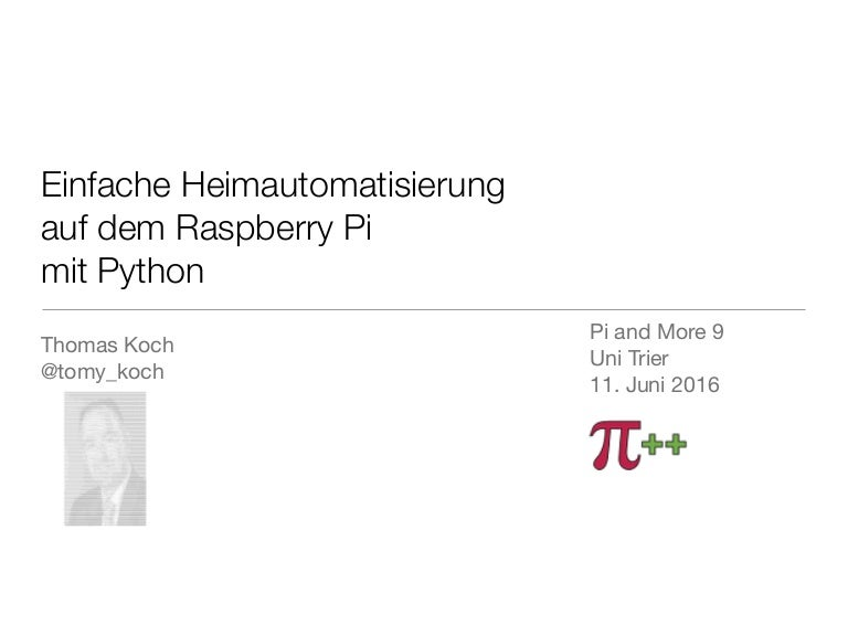 Surprising Einfache Heimautomatisierung Auf Dem Raspberry Pi Mit Python Wiring Database Heeveyuccorg