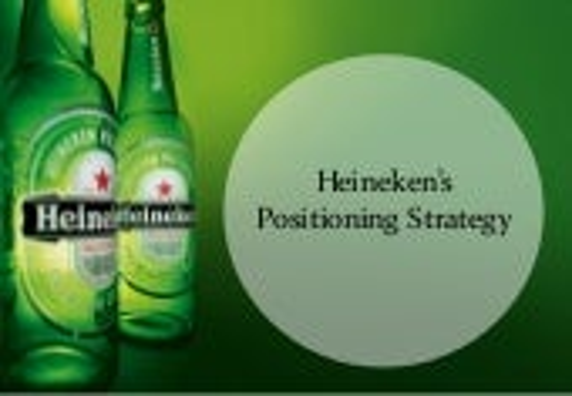 Heineken Positioning