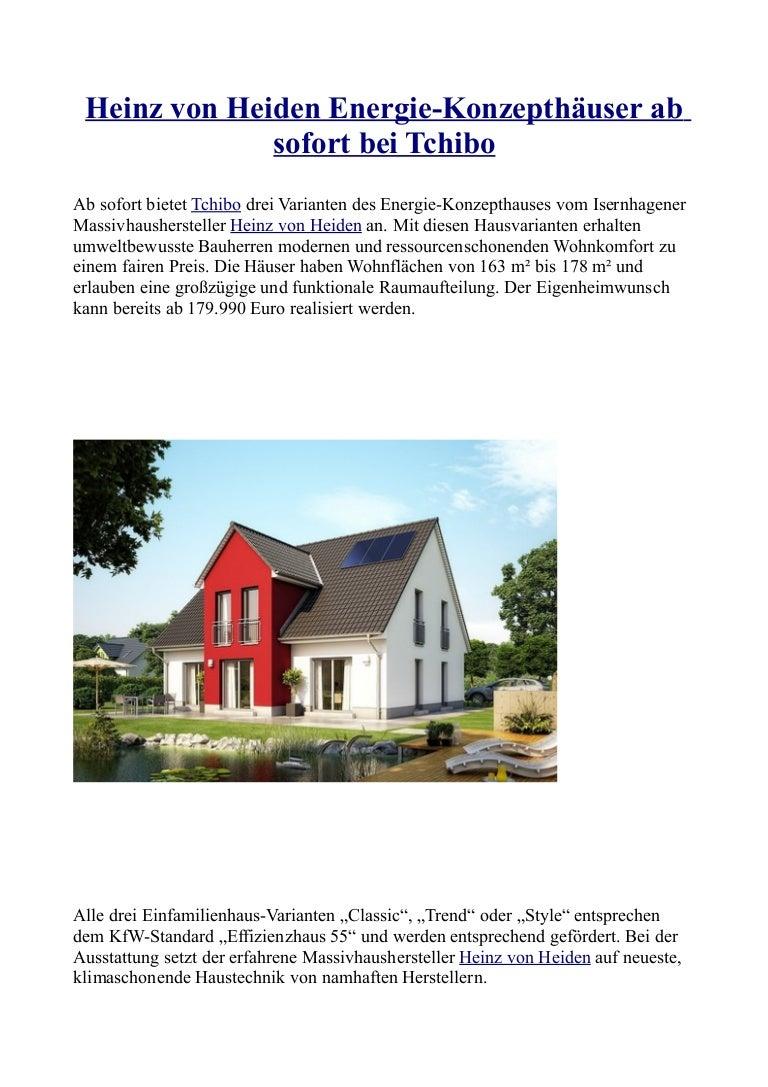 Wunderbar Heinz Von Heiden Häuser Preise Galerie Von