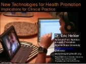 Technology and Health Promotion: Implications for Clinical Psychology Practice