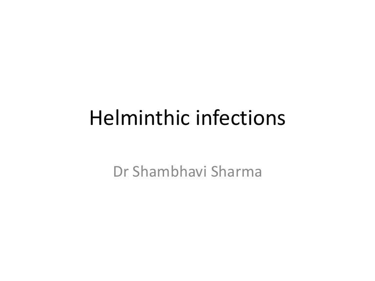 infecții helmintic ppt