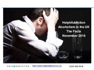 Help4Addiction - Alcohol, Health and Alcoholism in the UK - Statistics