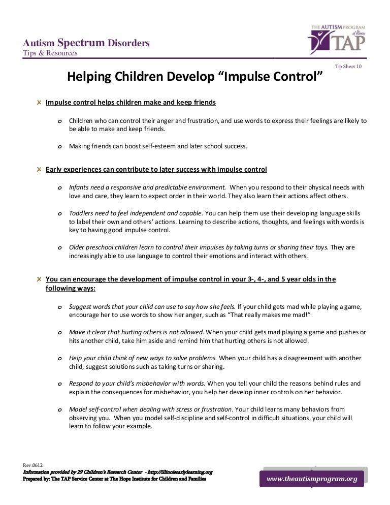 Helping Children Develop