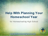Help with planning your homeschool year
