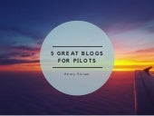5 Great Blogs for Pilots