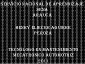 Henry eliecer aguirre peroza
