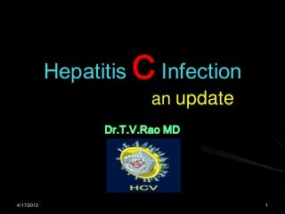 Hepatitis C infection update