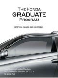Herb Chambers | Honda | Grad Program