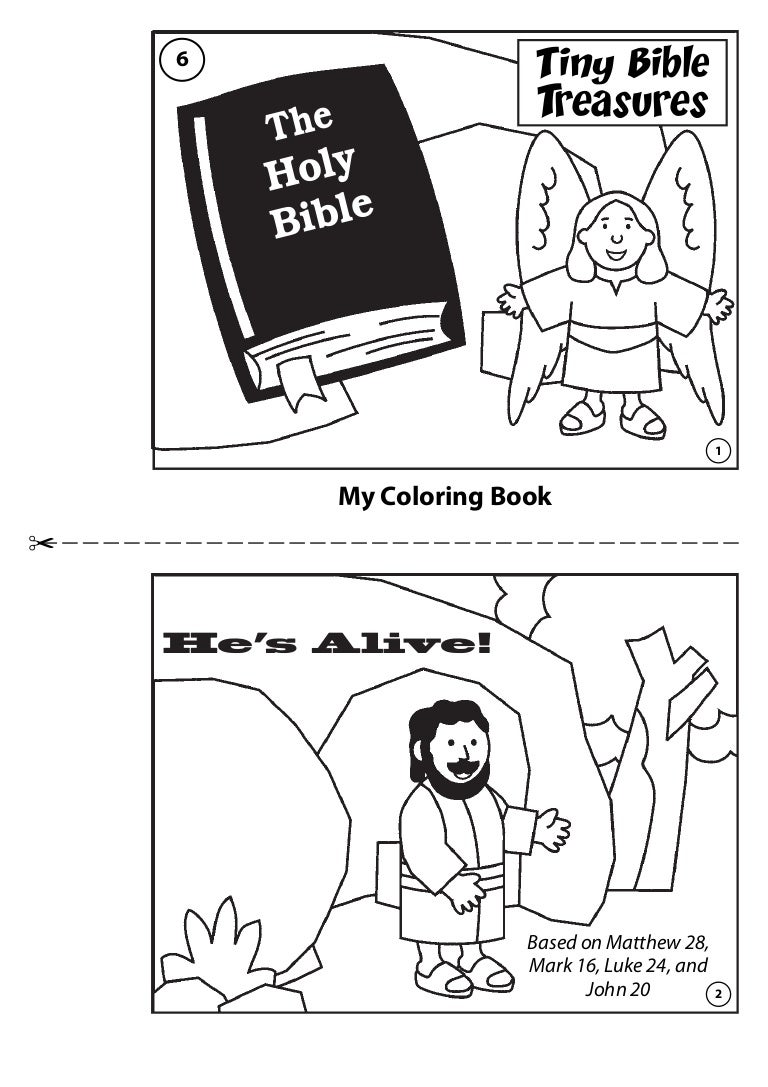 hes alive coloring book