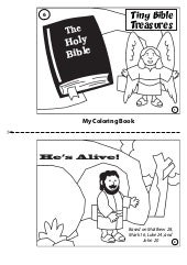 Coloring Book: He's Alive!