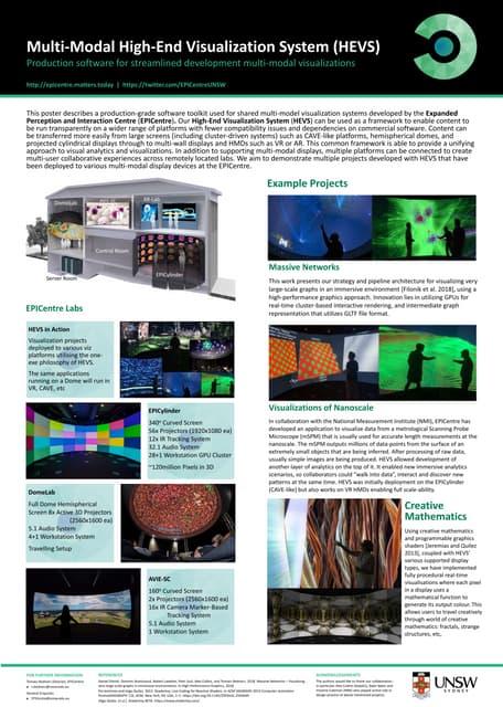 High-End Visualisation System (HEVS)