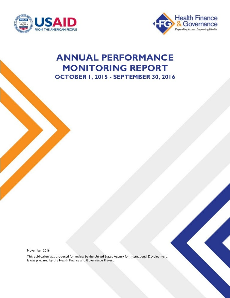 Webinar April 14th Roadmap To Cbhi How >> Year 4 Annual Performance Monitoring Report