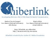 Hiberlink: Investigating Reference Rot, December 2013