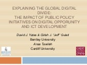 Global Digital Divide - at the HICSS 2010