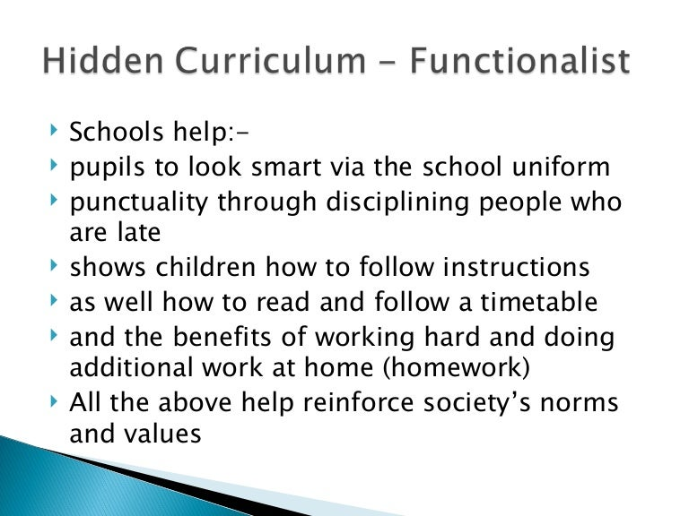 hidden curriculum