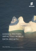 Hidden factors impacting mobile data growth