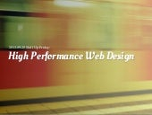 High Performance Webdesign