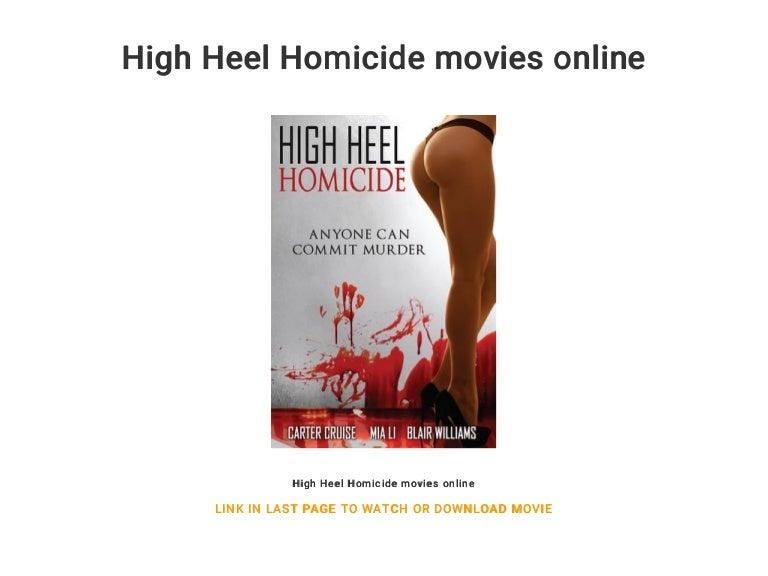 High Heel Homicide Full Movie