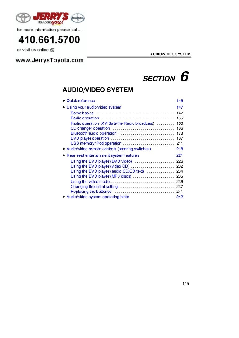 Toyota Sienna Service Manual: Disc cannot be Played No Playable Files Copyright Protection Error